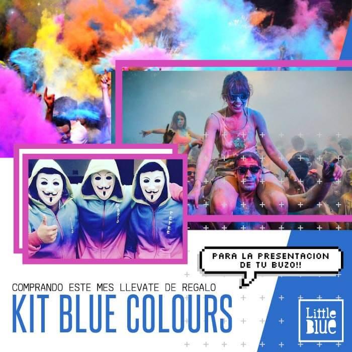 Promo Blue Colours